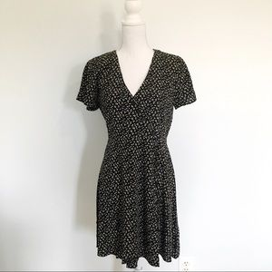 NWT Madewell Asymmetric Front Button Floral Dress
